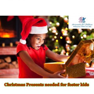 Christmas Presents Needed for Foster Kids